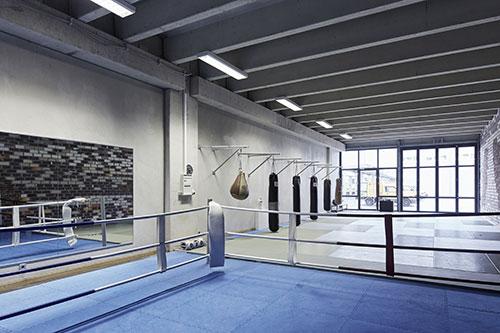 Box- und Judohalle